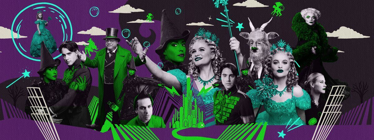 Top Art Wicked 15th Anniversary Illustration - 2018 - Character Portraits - Photos Caitlin McNaney