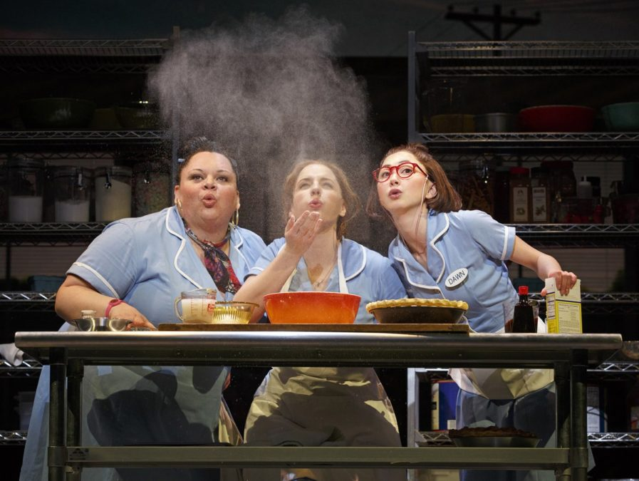 PS - Waitress - Keala Settle - Jessie Mueller - Kimiko Glenn - Photo: Joan Marcus