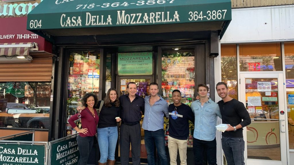 TOUR-A Bronx Tale-Chazz Palminteri-Cast-9/19